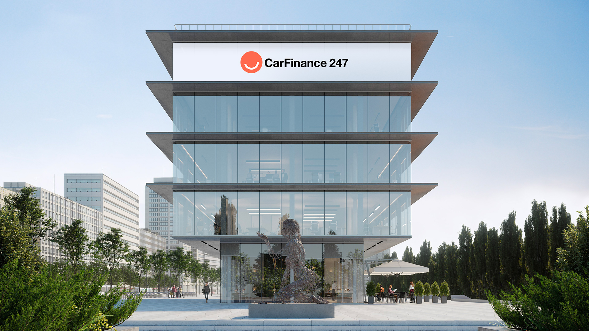 CarFinance247 Building Logo